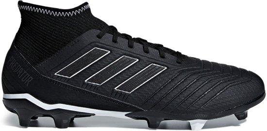 adidas Predator 18.3 Fg Voetbalschoenen Heren - Core Black/Core Black/Ftwr  White