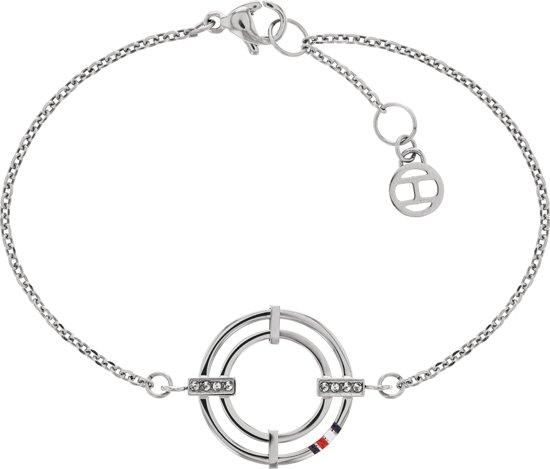 Tommy Hilfiger TJ2780147 Armband  -  Zilverkleurig