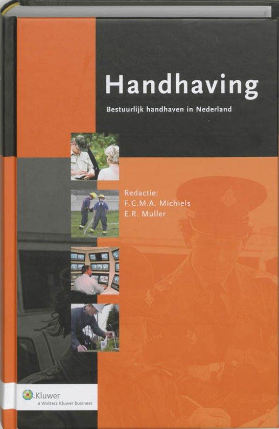 Boek cover Handhaving van  (Hardcover)