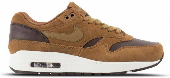 Nike Air Max 1 Premium Leather AH9902 200 Bruin Zwart