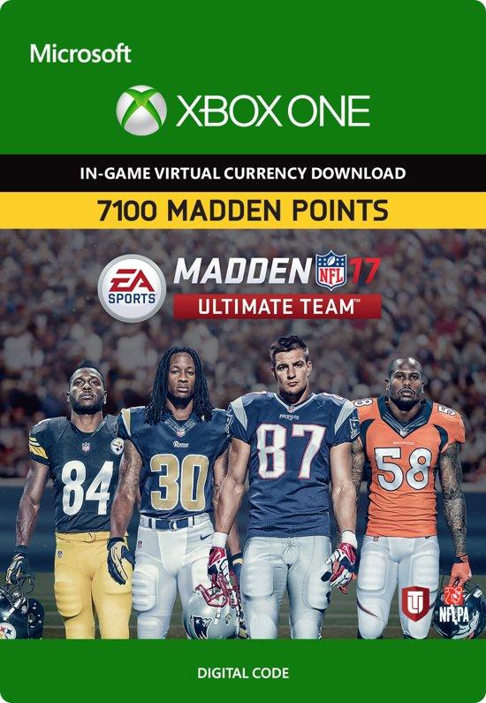 Madden NFL 17: 7100 Madden Points - Xbox One kopen
