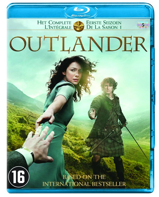 DVD cover van Outlander - Seizoen 1 (Blu-ray)