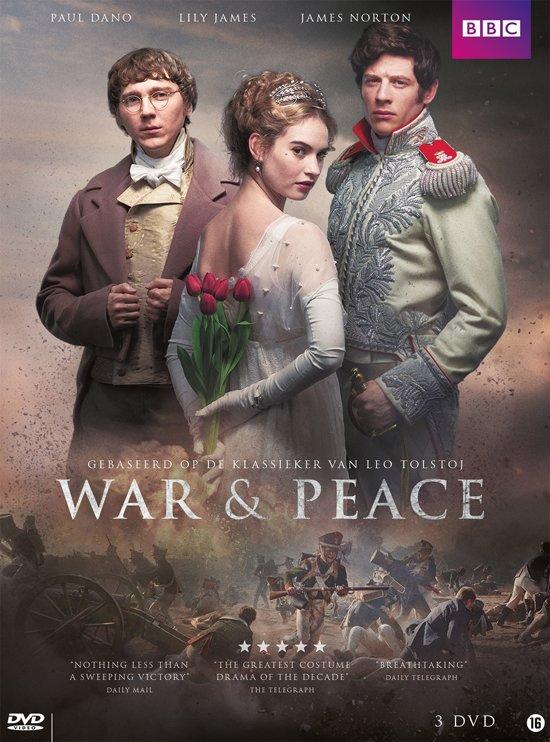 DVD cover van War & Peace (2016)