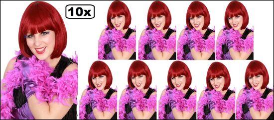 10x Boa brandveilig paars 180cm