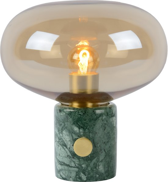 Lucide CHARLIZE - Tafellamp - Ø 23 cm - E27 - Amber