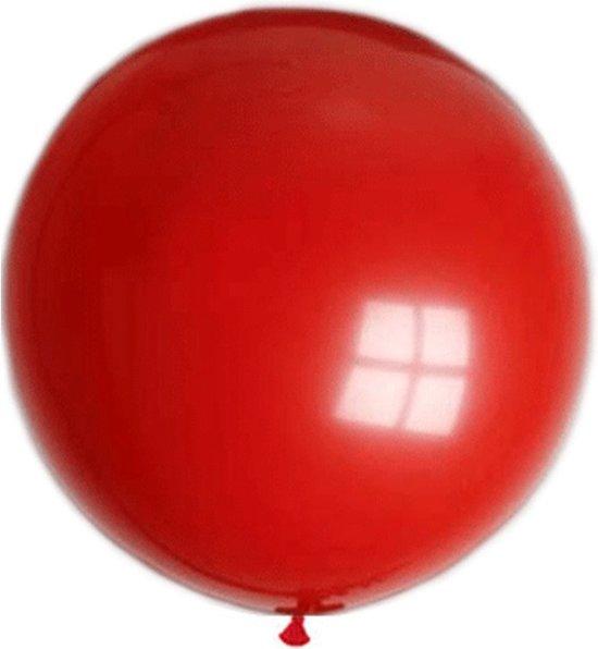 Mega ballon rood 250 cm