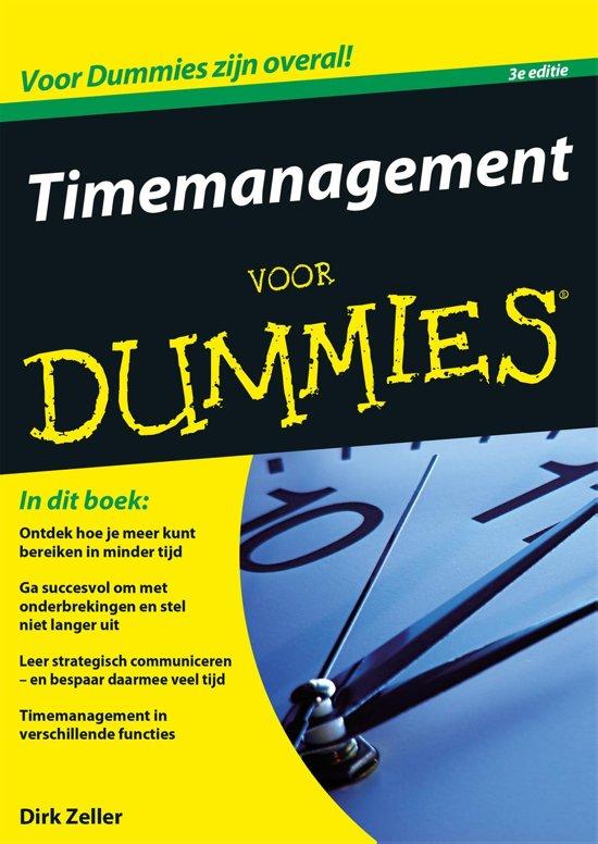 Voor Dummies - Timemanagement voor Dummies