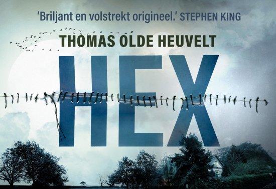 Boek cover Hex - dwarsligger (compact formaat) van Thomas Olde Heuvelt (Onbekend)