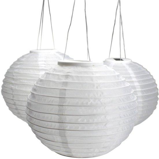 HIPVOORBUITEN - Solar tuinverlichting - Lampion - Groot - 25 stuks