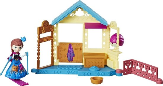 Hasbro Disney Frozen Speelset Anna's Spa-centrum Meisjes 8 Cm