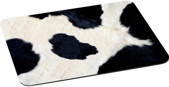 Muismat XL Koe koeienvacht met textiel toplaag - 28.5 x 24.5 cm