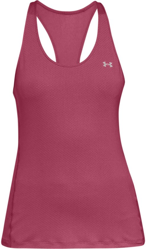 Under Armour HG Armour Racer Tank Sporttop Dames - Impulse Pink - Maat S