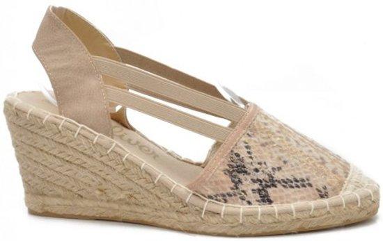 bol   s.oliver espadrille met sleehak - sandalen - maat: 41
