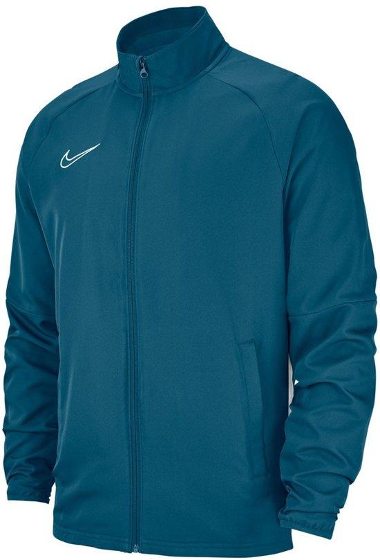 Nike L Blauw wit SportjasMaat Mannen 0Onw8Pk