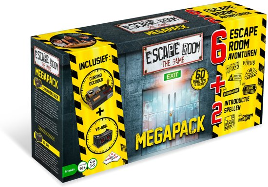 Escape Room The Game Mega Pack - incl. Virtual Reality