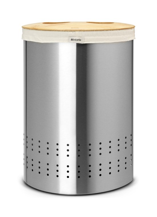 Brabantia Selector Wasmand - 40 liter - Matt Steel Fingerprint Proof