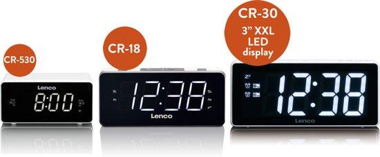 Lenco CR-18 Wekkerradio 8 x 20 cm