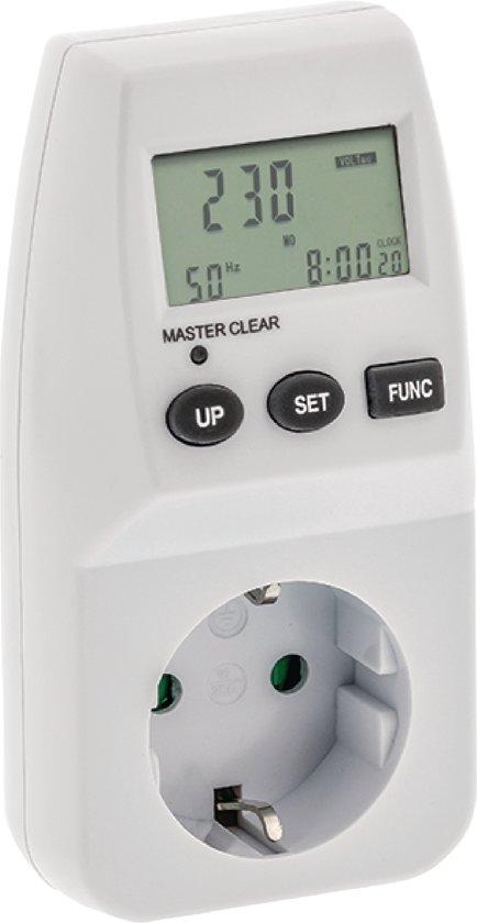 Verbazingwekkend bol.com   Premium Energiemeter - Stroomverbruik Meter - Energie TF-54