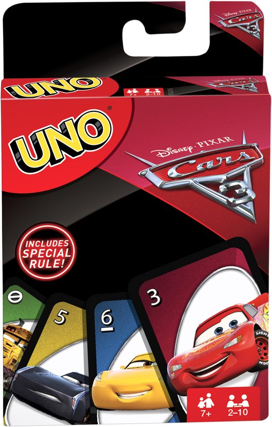 UNO Cars 3 - Kaartspel