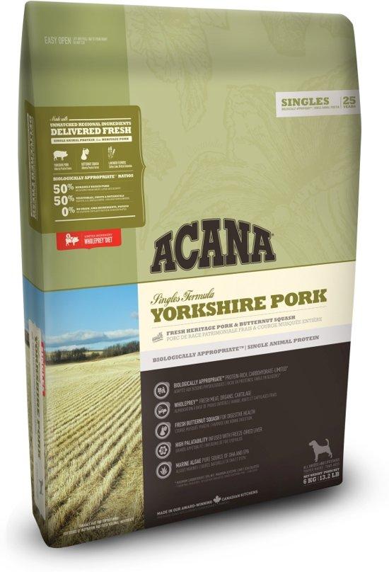 Acana Singles Yorkshire Pork Dog - 2 kg