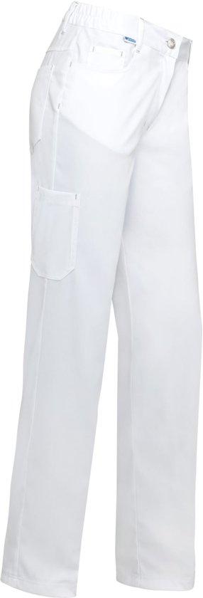 De Berkel damespantalon Thea-48-wit stretch
