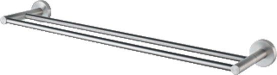 Haceka Kosmos Tec Dubbele Handdoekhouder - 80 cm