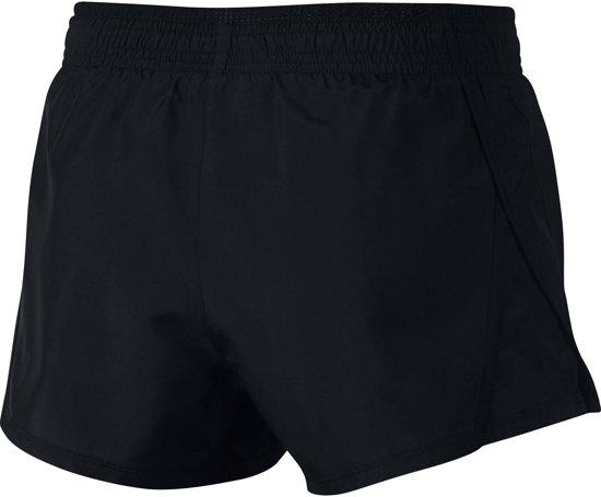 Nike 10K Short Sportshort Dames - Zwart