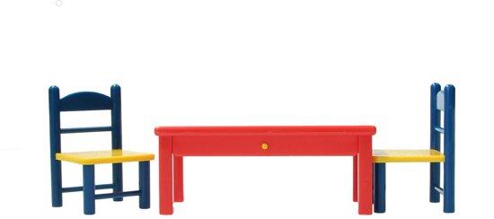 Nijntje Speelset - Tafel en Twee Stoelen | Meubels voor je Nijntje poppenhuis