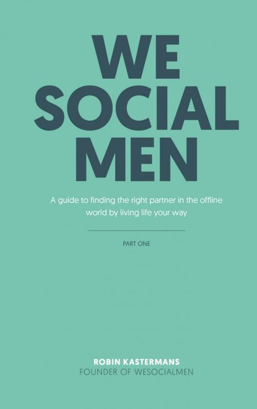 WeSocialMEN - part one