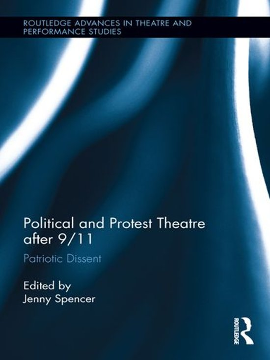 Boek cover Political and Protest Theatre after 9/11 van Spencer, Jenny (Onbekend)