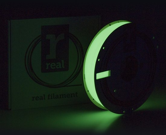 REAL Filament PLA glow in the dark 2.85mm (500g)