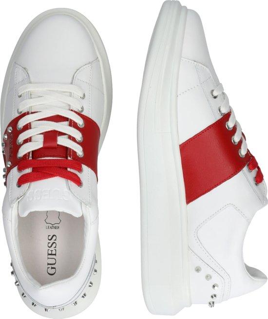 Guess sneakers laag kean Wit 40