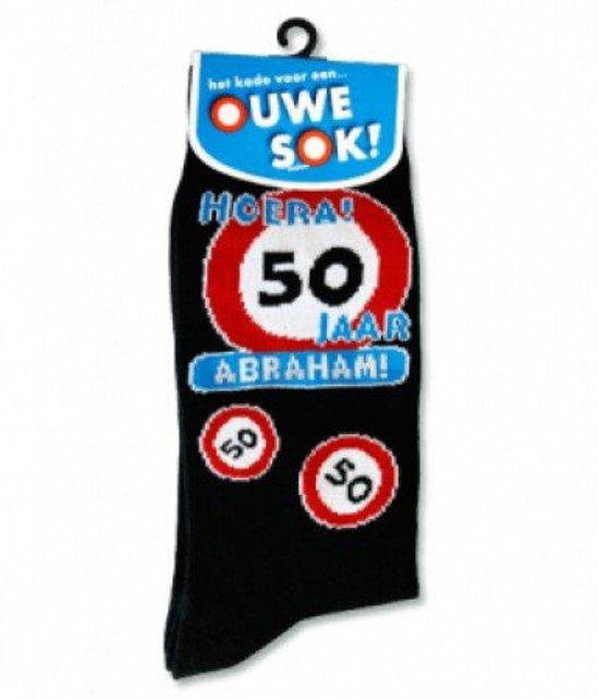 Bedwelming bol.com | Sokken - 50 jaar Abraham, Paper dreams | Speelgoed #WX44