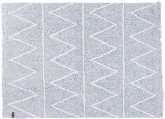 Lorena Canals Wasbaar tapijt Hippy Soft Blue - 160x120 cm