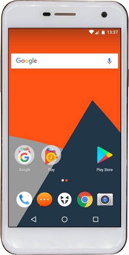 Wileyfox Spark+  Dual Sim - Wit in Overdinkel