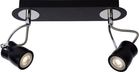 ... Lucide Samba - Plafondspots - 2 Lichts - Dimbare LED - Zwart  Wonen