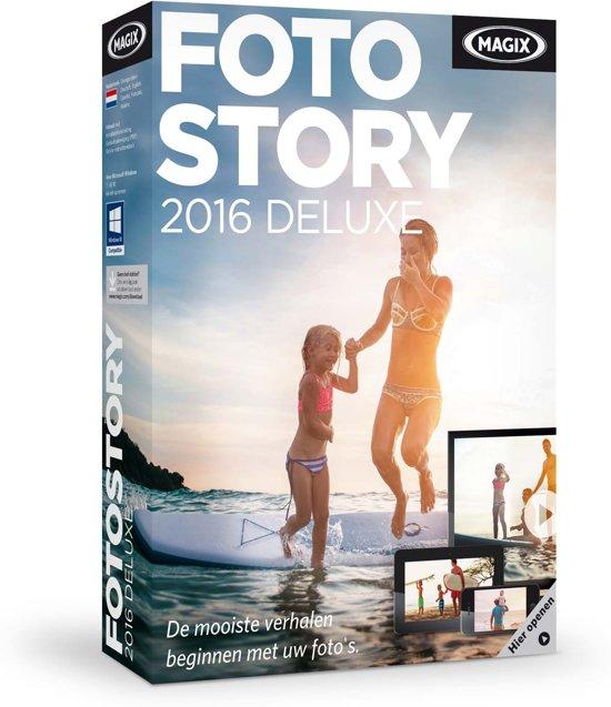 Magix Fotostory 2016 Deluxe - Nederlands