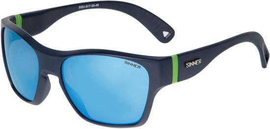 Sinner Gunstock Kinder Zonnebril - Blauw - One Size