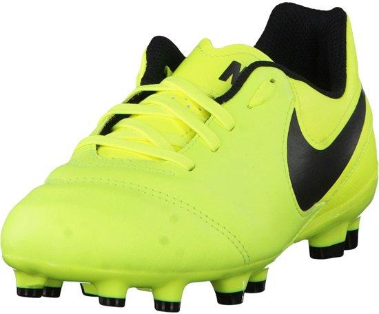 Nike - Tiempo Genio Fg Cuir Jr Football - Unisexe - Le Football - Noir - 33 VQCNozSD2