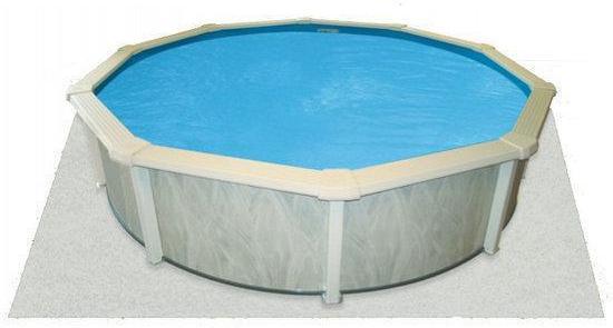 Interline Zwembad Interline ondertapijt voor zwembaden, Ø4,90 m rond