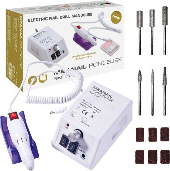 Manicure- en Pedicureset - MEANAIL® - Elektrische Voetvijl - Complete set voor professionele verzorging