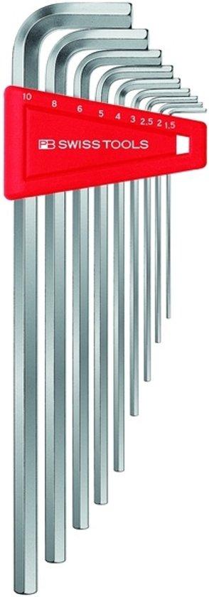 PB Swiss Tools Stiftsleutel binnenzeskant 9 delig lang