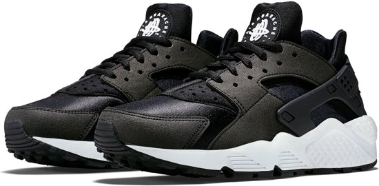 924d91c6f5b Nike Air Huarache Run Sportschoenen - Maat 40 - Vrouwen - zwart wit ...