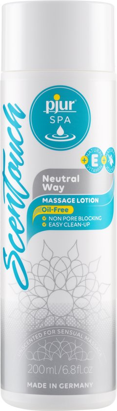 Pjur SPA Scentouch Massagelotion - Neutral - 200 ml