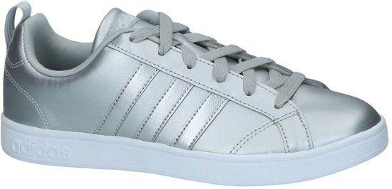 low priced 85154 ae478 adidas - Vs Advantage W - Sneaker laag gekleed - Dames - Maat 38 - Zilver