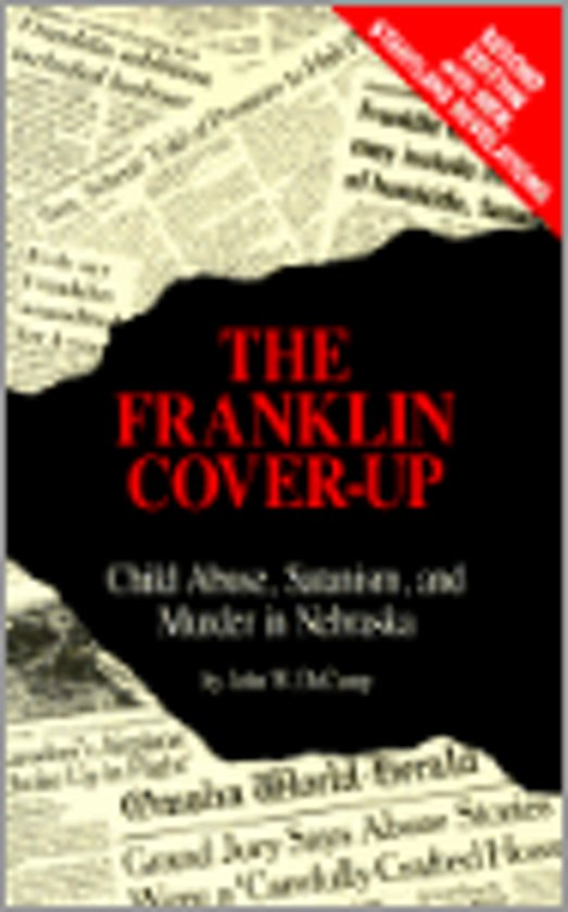 Boek cover The Franklin Cover-Up van John W Decamp (Paperback)