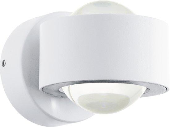 EGLO  Ono 2 - Wandlamp - 2 Lichts - Wit - Helder