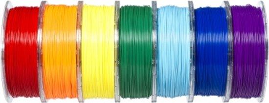 REAL Filament PETG transparant geel 2.85mm (1kg)