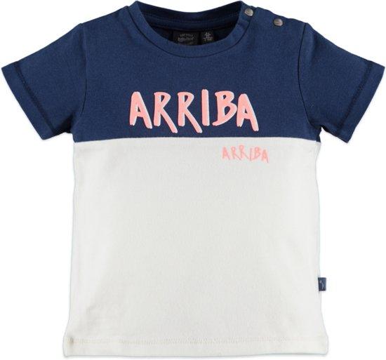 Babyface Jongens T-shirt - Blauw - Maat 62