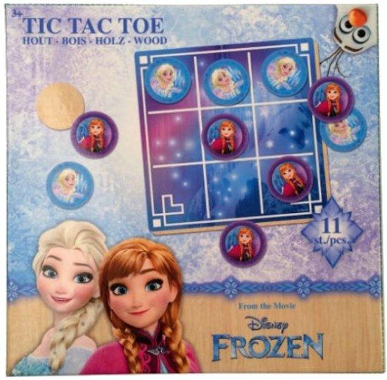 Disney Frozen Tictactoe Hout